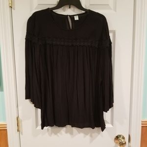 Old Navy gauze blouse